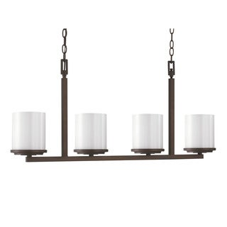 Austin Allen & Company Sloan Collection 4-light Bronze Island Light