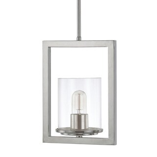 Austin Allen & Company Sloan Collection 1-light Polished Nickel Mini Pendant