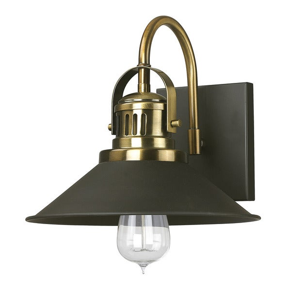 Austin Allen & Company Urban 1-light Bronze And Brass Wall