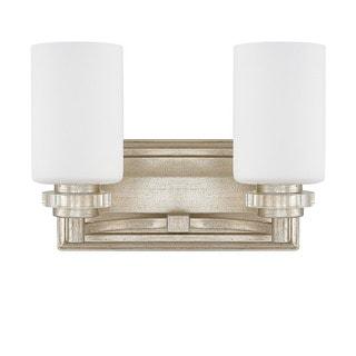 Austin Allen & Company Transitional 2-light Iced Gold Bath/Vanity Light