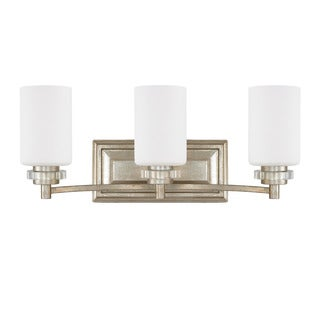 Austin Allen & Company Transitional 3-light Iced Gold Bath/Vanity Light