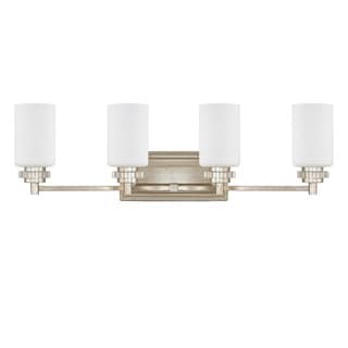 Austin Allen & Company Transitional 4-light Iced Gold Bath/Vanity Light