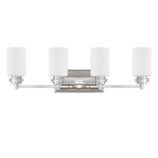 Austin Allen & Company Transitional 4-light Polished Nickel Bath/Vanity Light