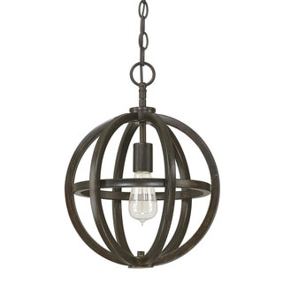 Austin Allen & Company Cole Collection 1-light Brushed Espresso Mini Pendant