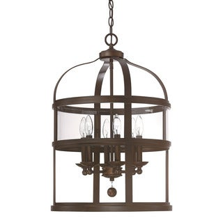 Austin Allen & Company Urban 6-light Bronze Foyer Pendant