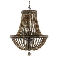 Austin Allen & Company Handley Collection 6-light Tobacco Chandelier