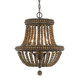 Austin Allen & Company Handley Collection 3-light Tobacco Chandelier