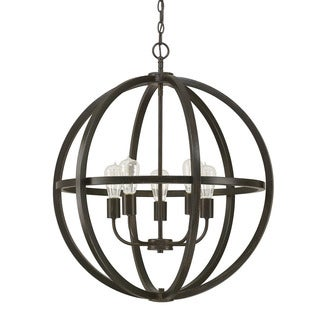 Austin Allen & Company Cole Collection 5-light Brushed Espresso Pendant