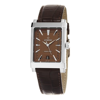 Eterna Men's 8492.41.21.1162D '1935' Brown Dial Brown Leather Strap Swiss Automatic Watch