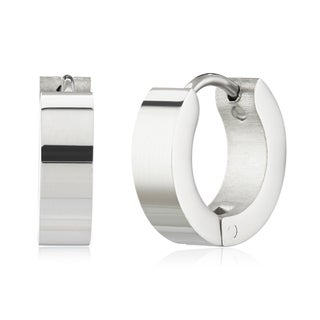 Link to Women's Stainless Steel Polished Hoop Earrings Similar Items in Earrings