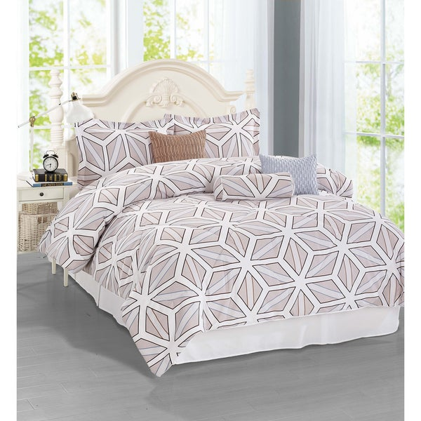 Journee Home 'Palencia' 7-piece Comforter Set