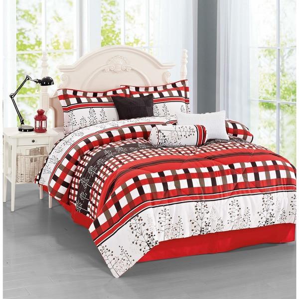 Journee Home 'Gandia' 7-piece Comforter Set