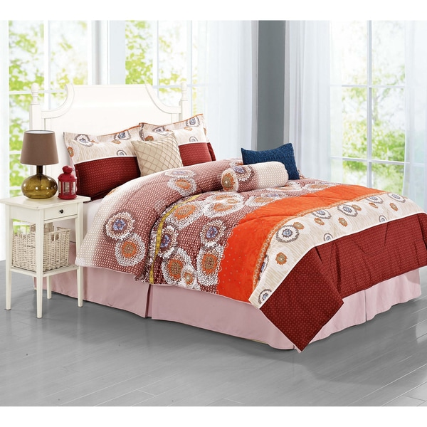 Journee Home 'Fraga' 7-piece Comforter Set