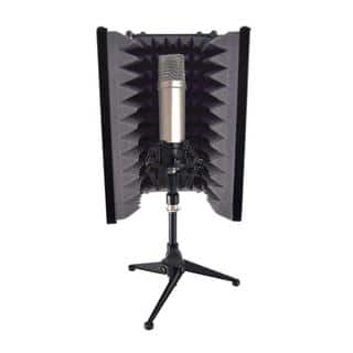 Pyle PSMRS08 Compact Microphone Isolation Shield/ Studio Mic Sound Dampening Foam Reflector|https://ak1.ostkcdn.com/images/products/10736379/P17792690.jpg?impolicy=medium