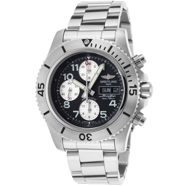 Breitling Men's A13341C3-BD19 'Steelfish' Chronograph Automatic Stainless Steel Watch. Opens flyout.