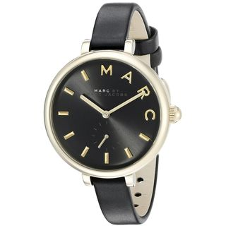 Marc Jacobs Women's MJ1416 'Sally' Black Leather Watch