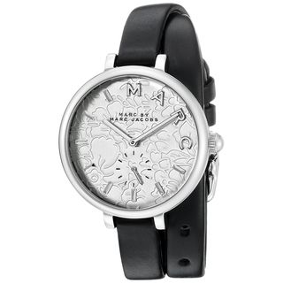 Marc Jacobs Women's MJ1419 'Sally' Black Leather Watch