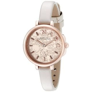 Marc Jacobs Women's MJ1421 'Sally' White Leather Watch