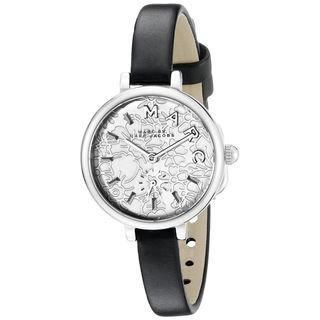 Marc Jacobs Women's MJ1422 'Sally' Black Leather Watch