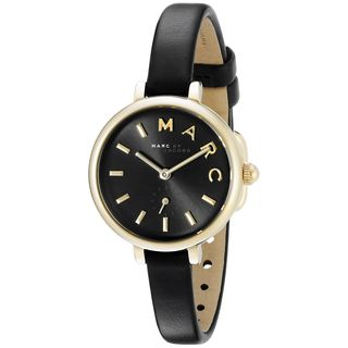 Marc Jacobs Women's MJ1423 'Sally' Black Leather Watch