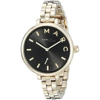 Marc Jacobs Women's MJ3454 'Sally' Gold-Tone Stainless Steel Watch