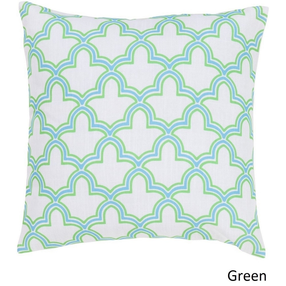 Shop Decorative St.Neots 18-inch Trellis Pillow Cover - Overstock - 10736469
