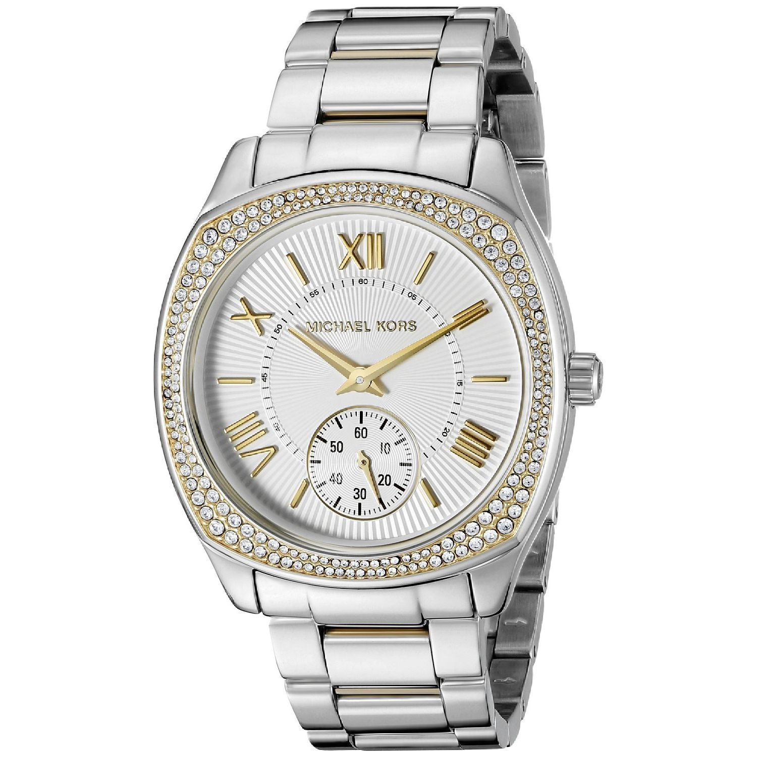 Michael Kors Womens  Bryn Two-Tone Stainless Steel Watch Michael Kors Womens MK6277 Stainless steel