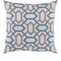 St.Mawes Trellis 22 inch Decorative Pillow Cover