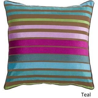 Decorative Stafford 18-inch Stripe Pillow Cover