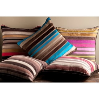 Decorative Stafford 18-inch StripeThrow Pillow Cover