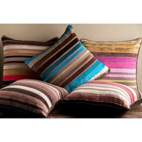 Decorative Stafford 18-inch Stripe Pillow Cover
