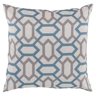 Decorative St.Mawes 18-inch Trellis Pillow Cover