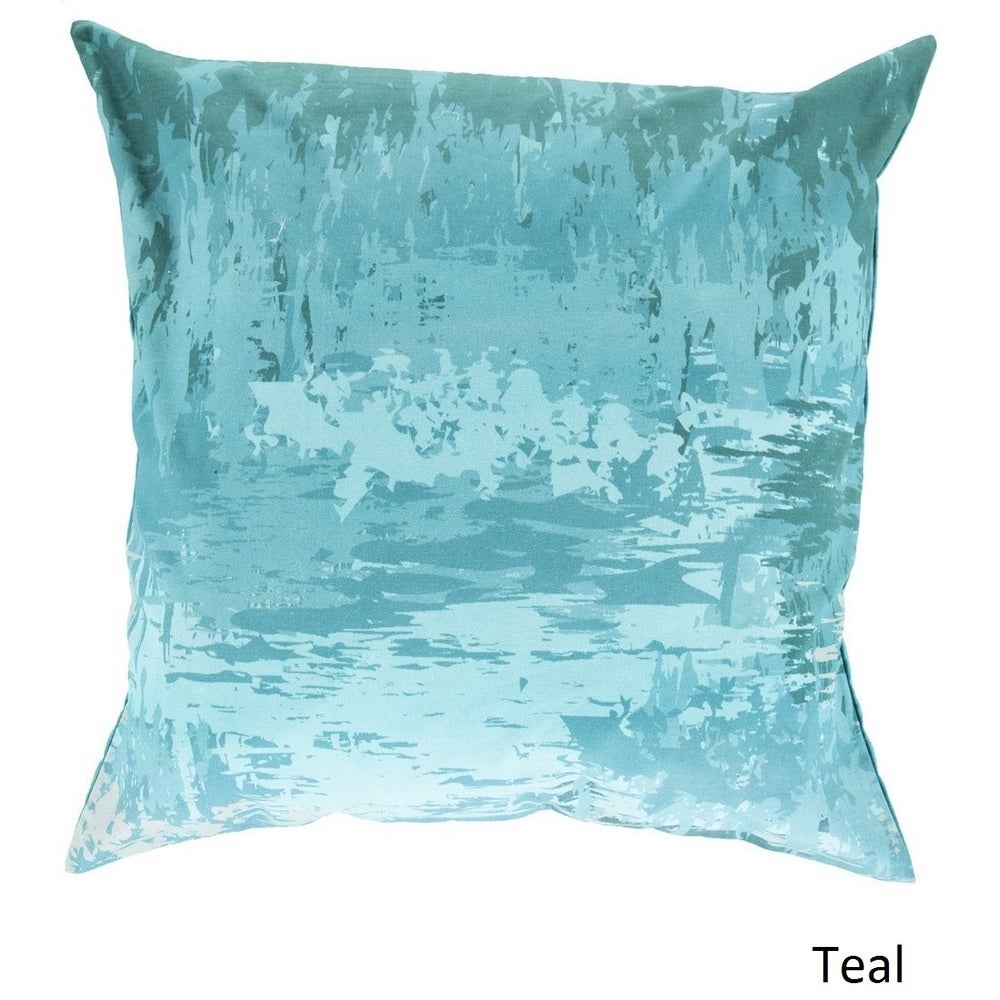 Shop Decorative Southsea 18-inch Abstract Pillow Cover - Overstock - 10736481