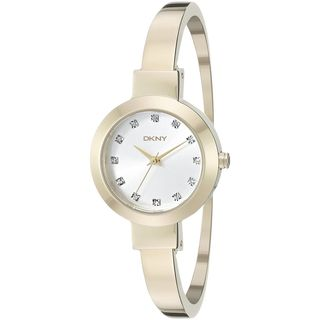 DKNY Women's NY2410 'Stanhope' Crystal Gold-Tone Stainless Steel Watch