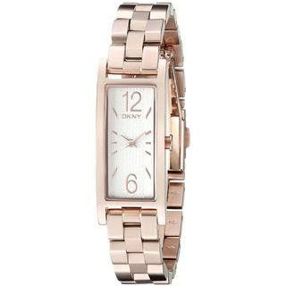 DKNY Women's NY2429 'Pelham' Rose-Tone Stainless Steel Watch|https://ak1.ostkcdn.com/images/products/10736488/P17792812.jpg?impolicy=medium