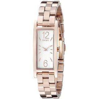 DKNY Women's NY2429 'Pelham' Rose-Tone Stainless Steel Watch