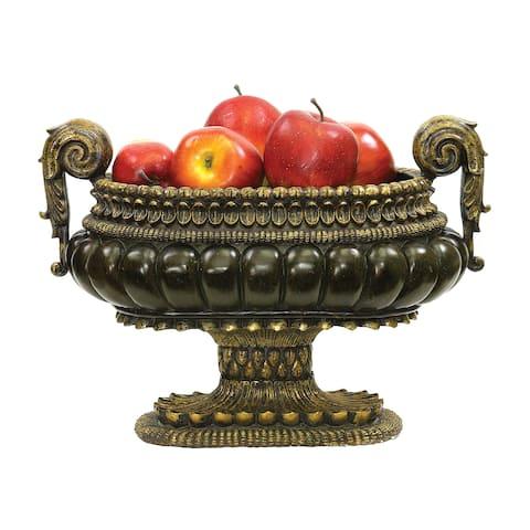 Sterling Mediterranean Decorative Centerpiece Display Bowl