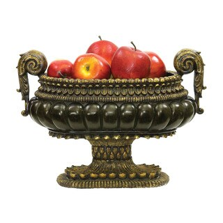 Sterling Mediterranean Decorative Centerpiece Display Bowl