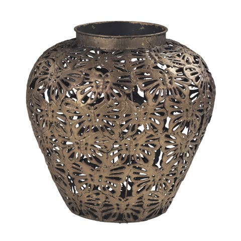 Sterling Rainsford-Butterfly Filigree Planter