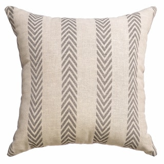 Campania Chevron Decorative 20-inch Throw Pillow (Set of 2)