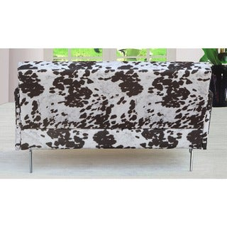 Emma Print Pattern Fabric Modern Loveseat (Modern/Contemporary)