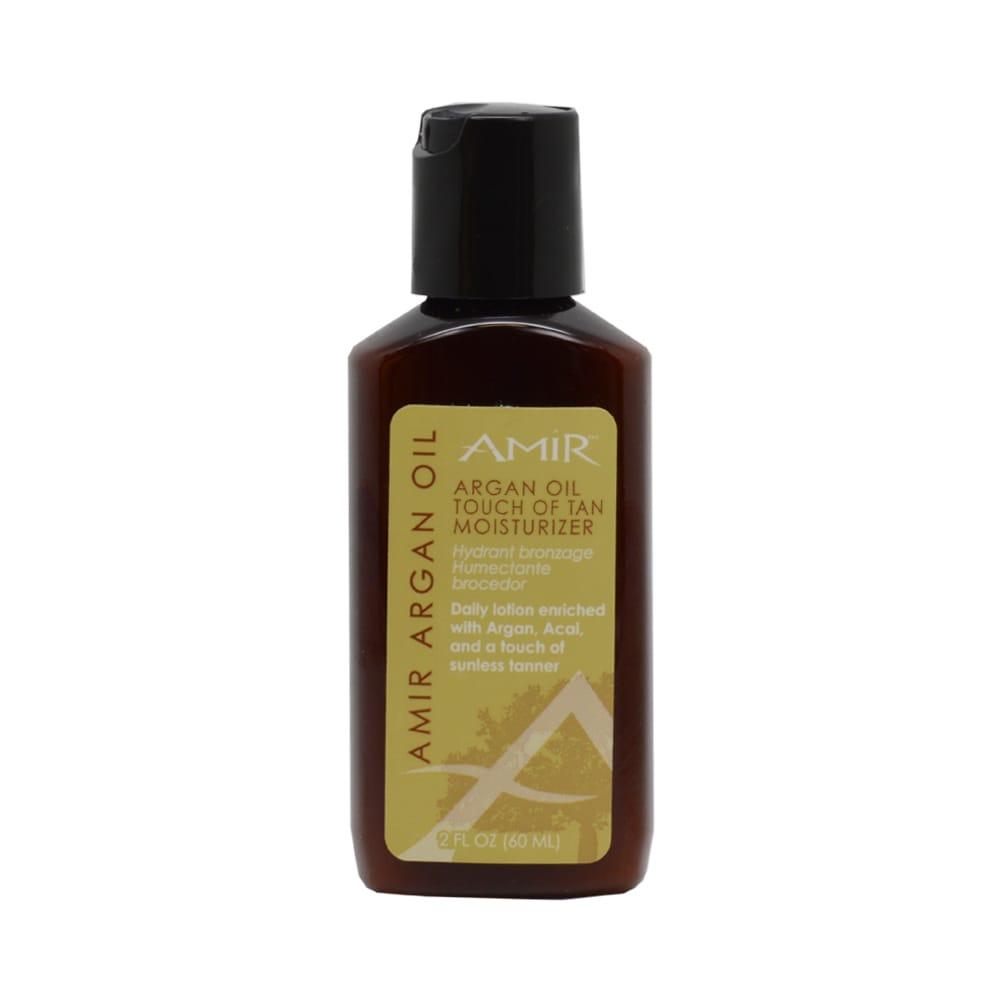Amir Argan Oil Touch Of Tan Body Moisturizer 2-ounce Loti...
