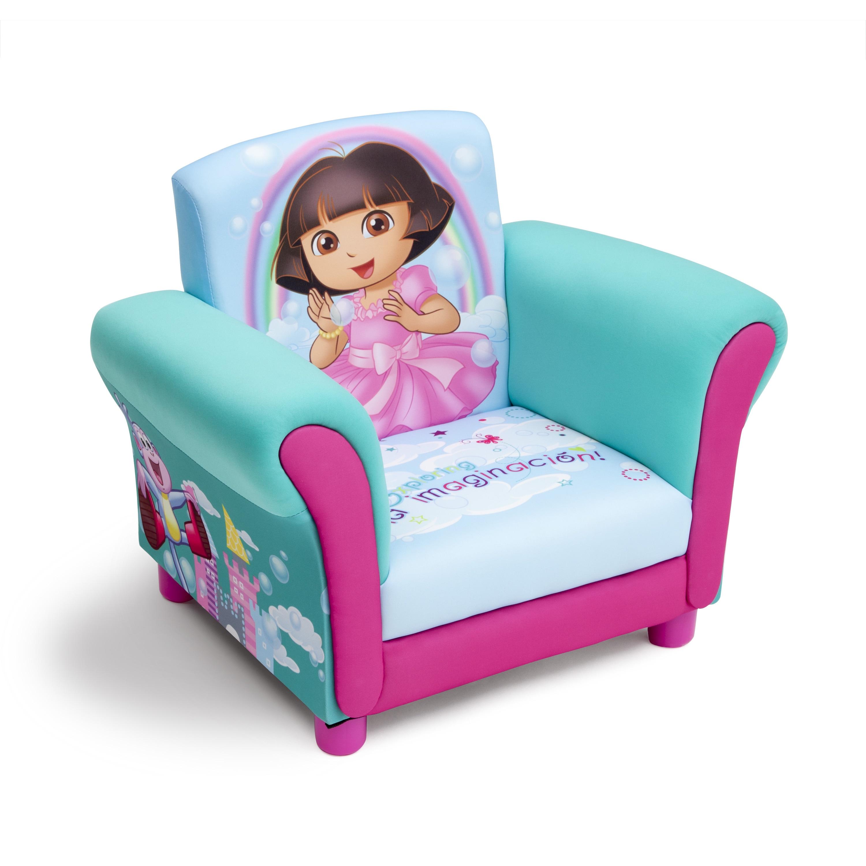 Dora the Explorer Upholstered Chair by Delta Children (Up...