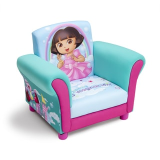 Dora the Explorer Upholstered Chair by Delta Children