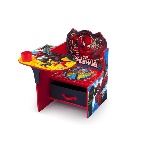 Delta Children Spider Man Chair Desk With Storage Bin