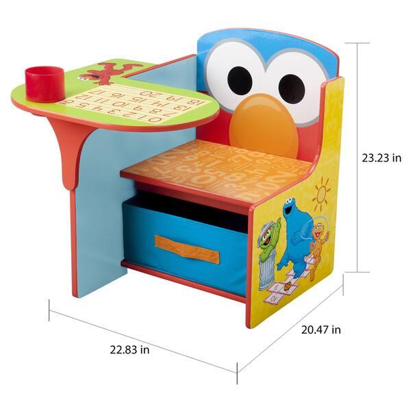 Pleasant Shop Sesame Street Chair Desk With Storage Bin By Delta Creativecarmelina Interior Chair Design Creativecarmelinacom