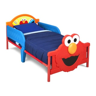 Sesame Street 3D Toddler Bed by Delta Children