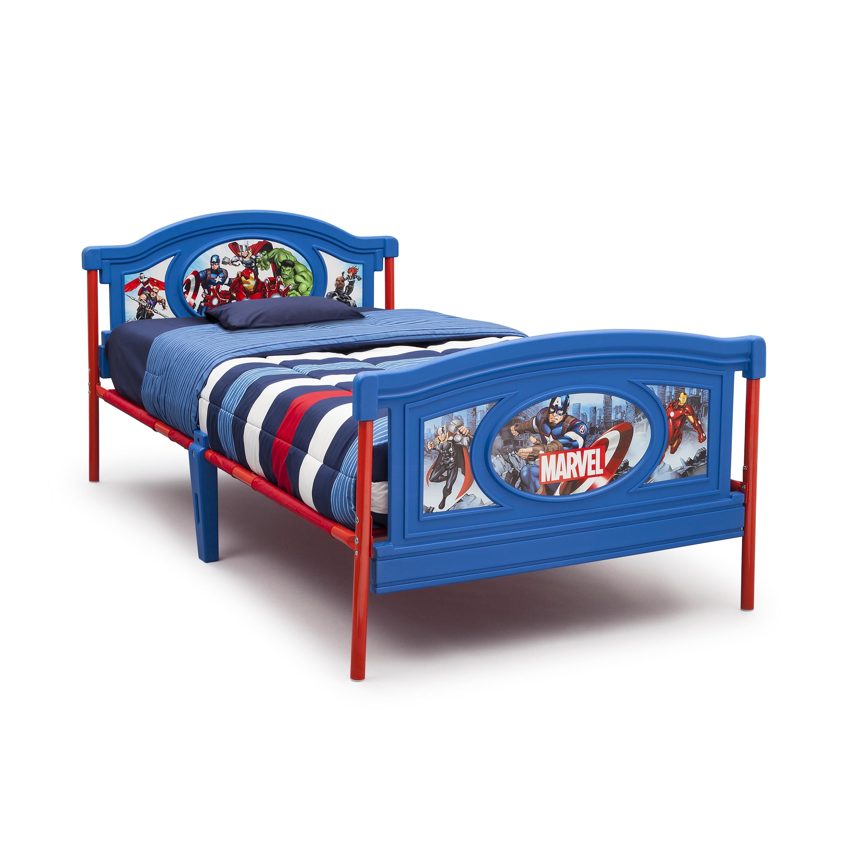 Avengers Twin Bed by Delta Children (Multi), Blue