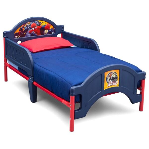 Delta Children Spider Man Plastic Toddler Bed
