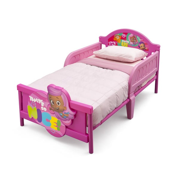 Delta Children Bubble Guppies 3D Toddler Bed. Delta Children Bubble Guppies 3D Toddler Bed   Free Shipping Today
